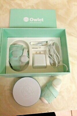 Owlet Smart Sock 2 Baby Oxygen Level And Heart Rate Monitor 3 socks 0-18 MONTHS