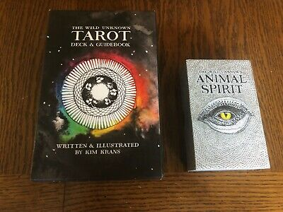 The Wild Unknown Tarot, and Animal Spirit Oracle Two great decks!!!
