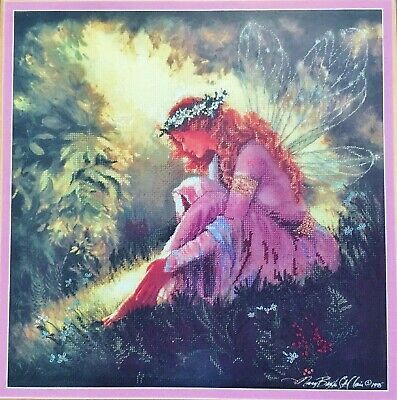 """Cross Stitch Kit """"Garden of Dreams"""" with Printed Background  NOT STARTED"""