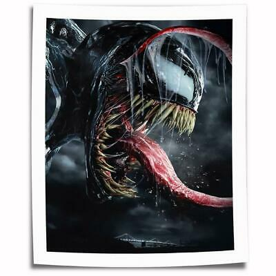 """16""""x24""""Venom Poster HD Canvas prints Painting Home Decor Picture Room Wall art"""