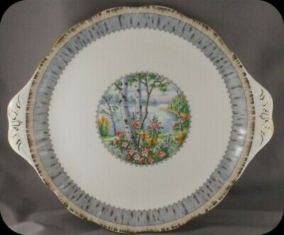 Royal Albert Silver Birch Cake Plate (two available)