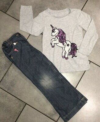 George Girls Unicorn Outfit 5-6 Years
