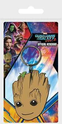 Guardians of the Galaxy Vol. 2 Rubber Keychain Baby Groot 6 cm Pyramid Marvel