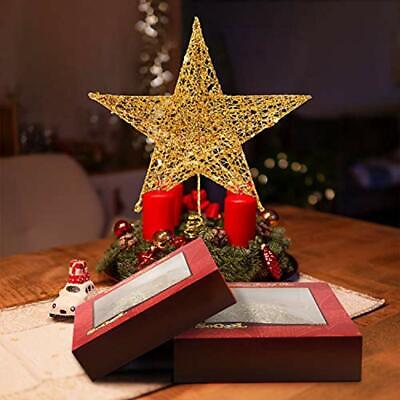 Tree Toppers Fantaspic&enspSeries&enspChristmas New Year Treetop Star, Holiday 5