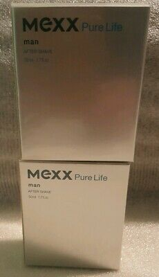 2x MEXX Pure Life man 2x 50ml After Shave