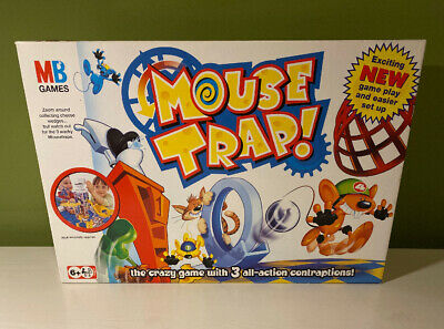 Mouse Trap Board Game by MB Games in Amazing Condition