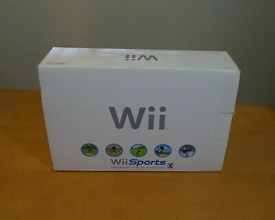 Nintendo Wii Sport Set White Console System  (NTSC)  RVL-001  (A)