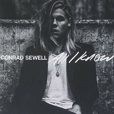 All I Know by Conrad Sewell - CD - AusPost with Tracking
