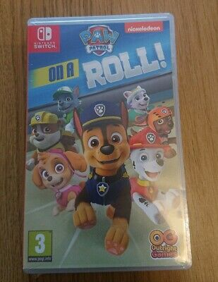 Paw Patrol: On A Roll videogame for nintendo Switch. Brand new - sealed.