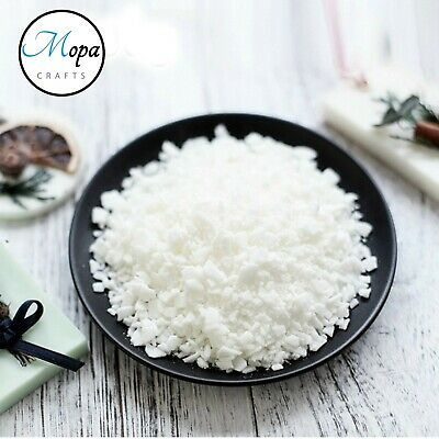 Soy Soya Wax Flakes 100% Pure Clean Burning Natural Candle Making
