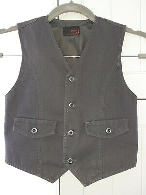"Boys Grey Waistcoat 'Next Sp"" Smart/Casual   Gorgeous!!!   Age 5 Years"