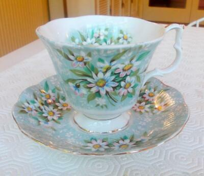 Vintage Royal Albert Bone China Festival Series Saville Cup And Saucer 1St Qual.