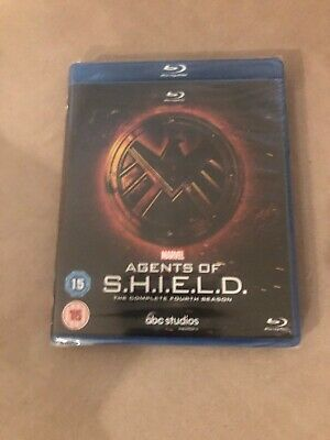 Marvel Agents of SHIELD S.H.I.E.L.D. The Complete Fourth Season Blu-Ray NEW 4