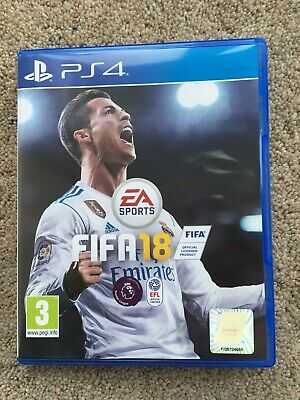 FIFA 18 PS4 Official Football Game Sony PlayStation 4
