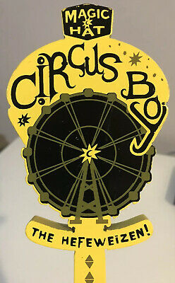 MAGIC HAT ROXY ROLLES AUTUMN BEER TAP HANDLE pull brewery bar home brew craft