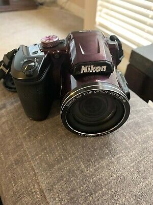 Nikon COOLPIX B500 16.0MP Digital Camera - Plum