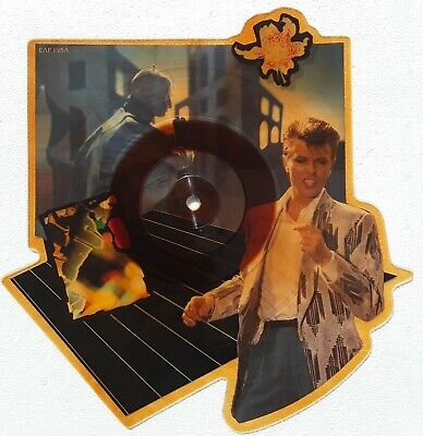 DAVID BOWIE LOVING THE ALIEN VINYL Picture Disc from TONIGHT LP. NEUF TRÈS RARE