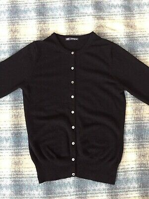 Marks & Spencer Autograph Pure Cashmere Ladies Cardigan Size 8 UK Womens Jumper