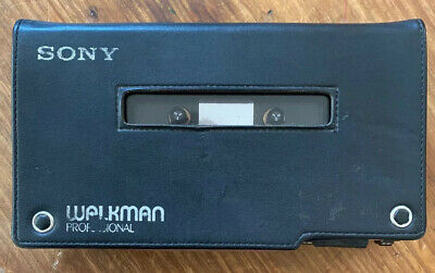 Sony Walkman Professional Model WM-D6C w/ Case
