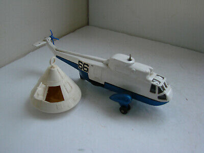 militaire bt repro 724 dinky toys n117 boite HELICOPTERE SEA KING navy