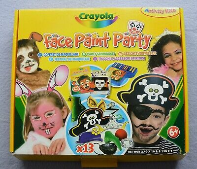 Crayola Face Paint Party Activity Kit (boxed)