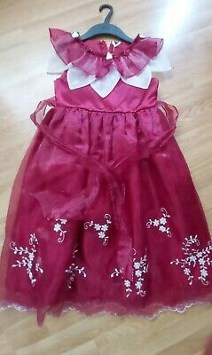 Girl dress christmas party age 8-9 years occasional clothing kids