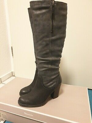 Padded Stiefel Italy 39 Leder Leather Tamaris Boots Futter e9YDHIWE2