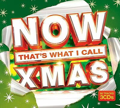 NOW That's What I Call Xmas 3 CD 60 Tracks Green Cover Festive Christmas Hits