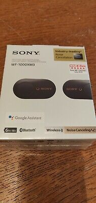Sony WF-1000XM3 Wireless Noise Cancelling earbuds (black). 5 DAYS ONLY