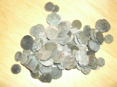 130 lot Ancient Roman plus other uncleaned partly cleaned low grade coins