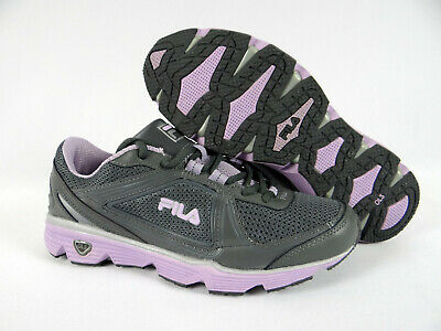 WOMENS FILA SHOES Sneakers Gray Purple DLS Circuit Running