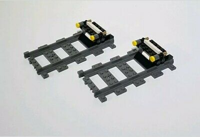 LEGO Curved train track pieces x4 60197 8867 60052 60198 60051 City new