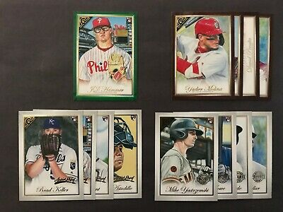 2019 Topps Gallery Parallel U-Pick