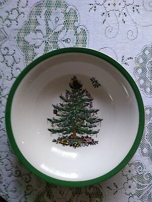 Spode Christmas Tree Large Breakfast Pasta Bowl New Xmas Lunch Lovely Scarce