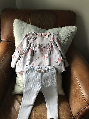 Ted Baker Top And Leggings 18-24 Months