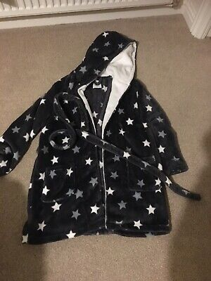 New Look 915 Generation Girls Fleece hooded dressing gown size Small