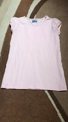 Girls Age 7 Years Next Pink Tshirt Top