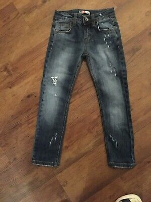 MSGM Skinny Fitted Jeans Age 4 Years Unisex Boys Or Girls Excellent Condition
