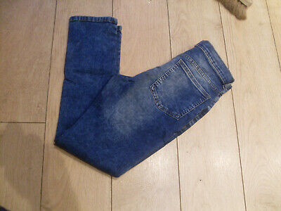 M & S Boys Skinny Fit Jeans - Faded Blue - Age 13-14 Years - Bnwt