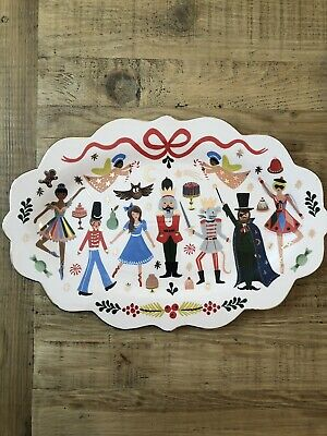 Rifle Paper Co. x Anthropologie Nutcracker Large Serving Platter
