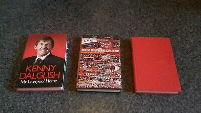 Liverpool Fc / Lfc Signed Books - Collection Only