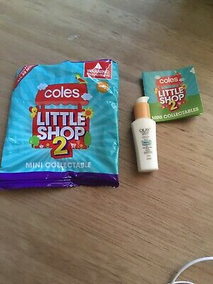 Coles Little Shop 2 Mini Olay Lotion