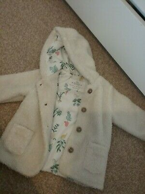 Marks and Spencer baby girls coat 9-12 months M&S