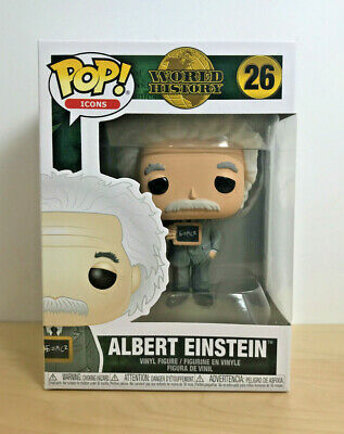 Funko Pop! Icons #26 World History - Albert Einstein