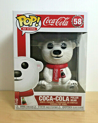 Funko Pop! Ad Icons #58 Coca Cola Polar Bear
