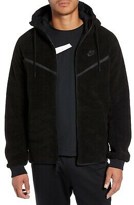 "SUDADERA POLAR CAPUCHA Y CREMALLERA ""WINDRUNNER NIKE Tech Icon Fleece"" - size M."