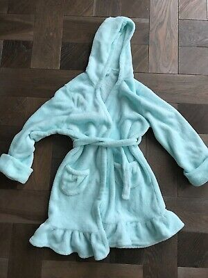 Girls Gap Soft Fleece Dressing Gown Size 8-9 Years Excellent
