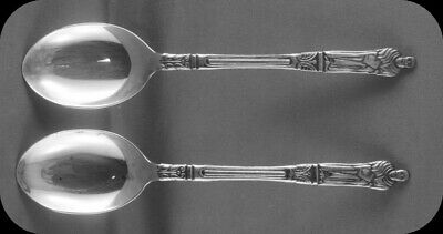 Two Sheffield Monk Apostle Collector Spoons