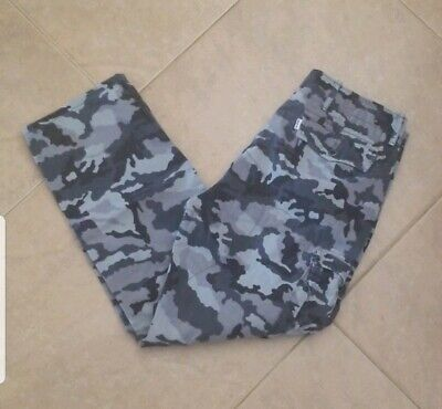 Levi's Grey Army Camouflage Cargo Pants Size 32x30
