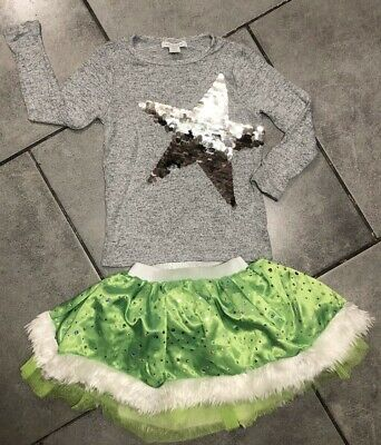 Primark Girls Tutu Skirt Christmas Outfit 3-4 Years